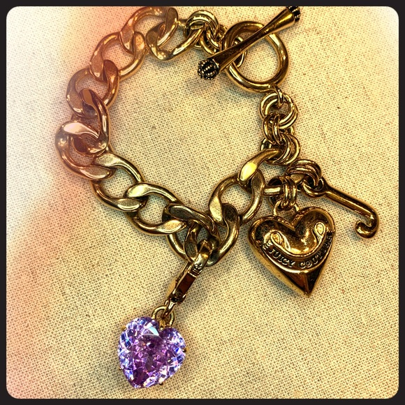 Juicy Couture Jewelry - Juicy Couture Bracelet - 3 charms